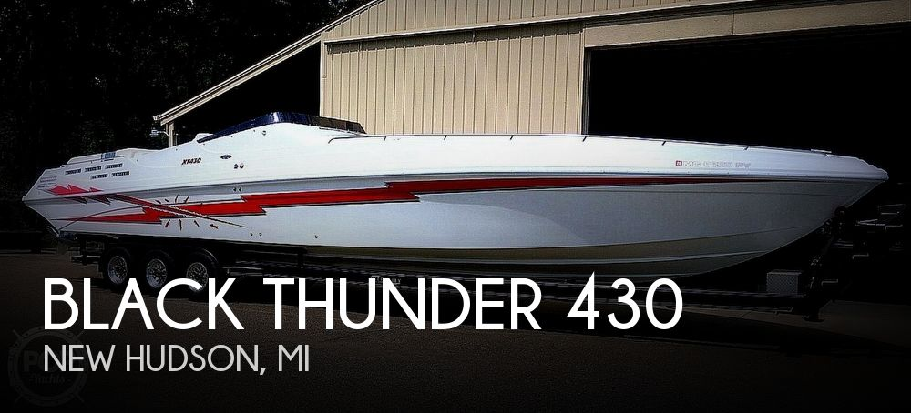 Used Boats For Sale in Toledo, Ohio by owner | 1996 Black Thunder XT 430