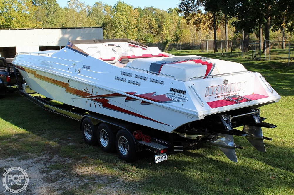 1996 Black Thunder boat for sale, model of the boat is XT 430 & Image # 5 of 40