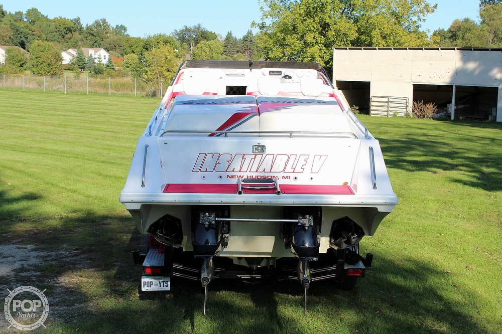 1996 Black Thunder boat for sale, model of the boat is XT 430 & Image # 7 of 40