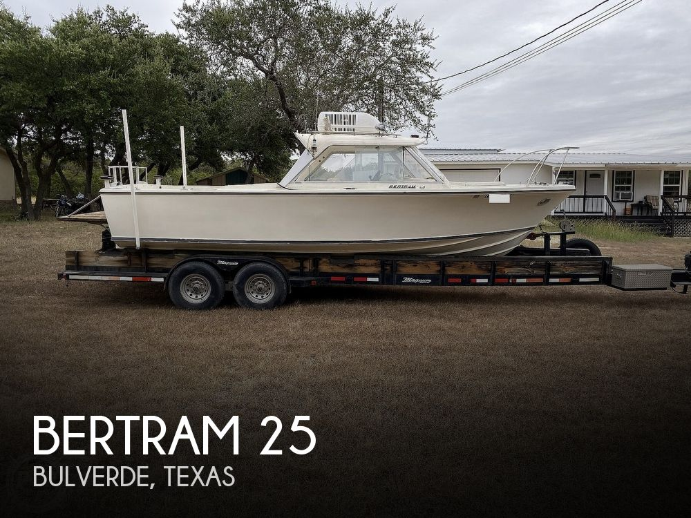 1967 Bertram boat for sale, model of the boat is 25 & Image # 1 of 40