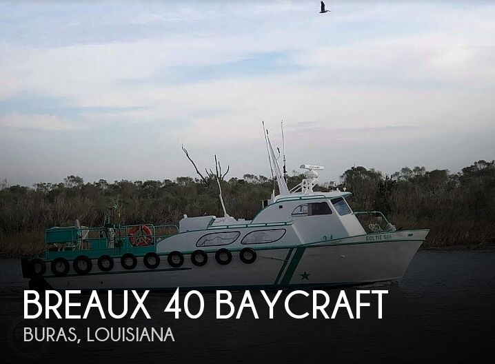 Used Breaux Boats For Sale by owner | 1970 Breaux 40 Baycraft