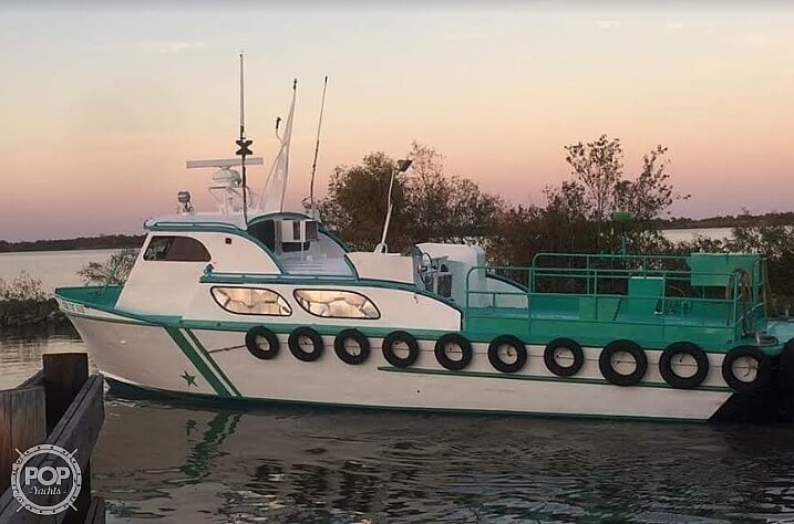 1970 Breaux boat for sale, model of the boat is 40 Baycraft & Image # 7 of 40