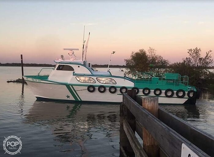 1970 Breaux boat for sale, model of the boat is 40 Baycraft & Image # 8 of 40