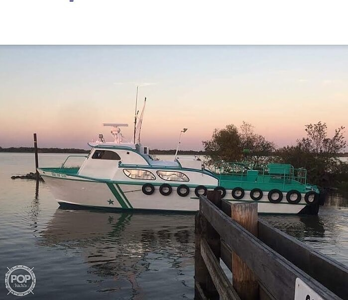 1970 Breaux boat for sale, model of the boat is 40 Baycraft & Image # 9 of 40