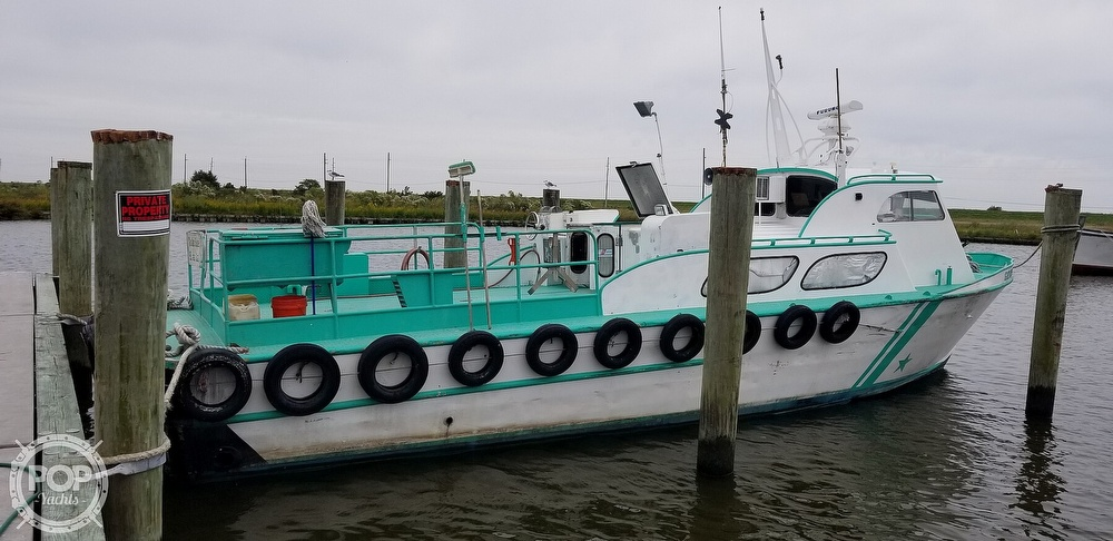 1970 Breaux boat for sale, model of the boat is 40 Baycraft & Image # 10 of 40