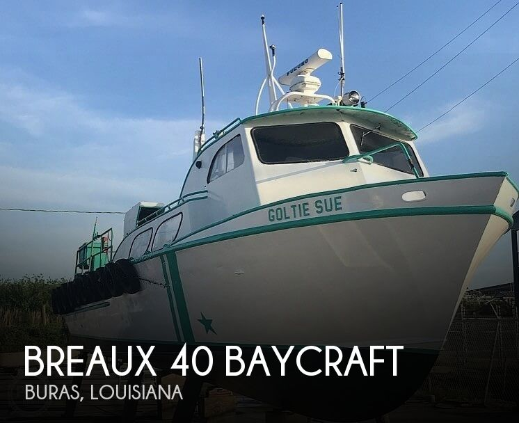 1970 Breaux boat for sale, model of the boat is 40 Baycraft & Image # 1 of 40