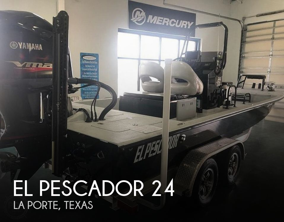 Used Power boats For Sale in Beaumont, Texas by owner   2017 El Pescador 24