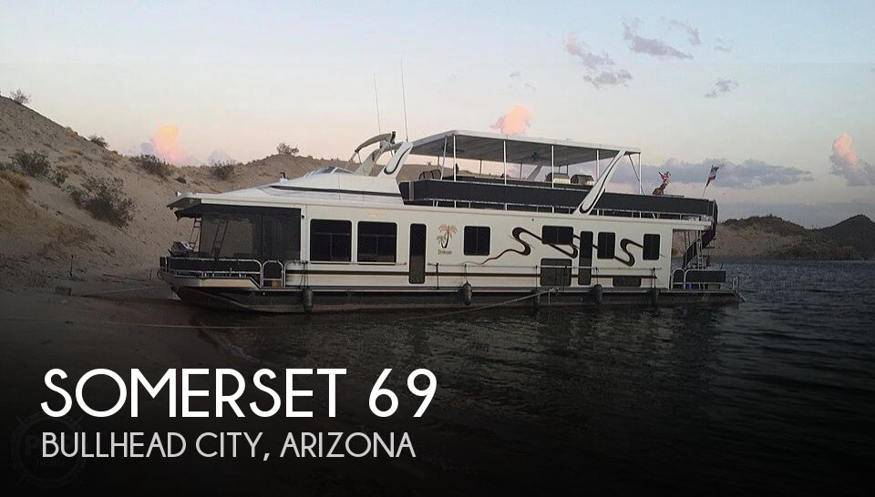 Used Houseboats For Sale by owner | 2000 Somerset 69