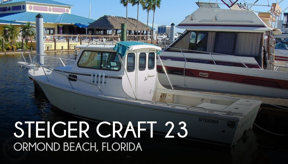 2001 Steiger Craft boat for sale, model of the boat is 23 Chesapeake & Image # 1 of 40