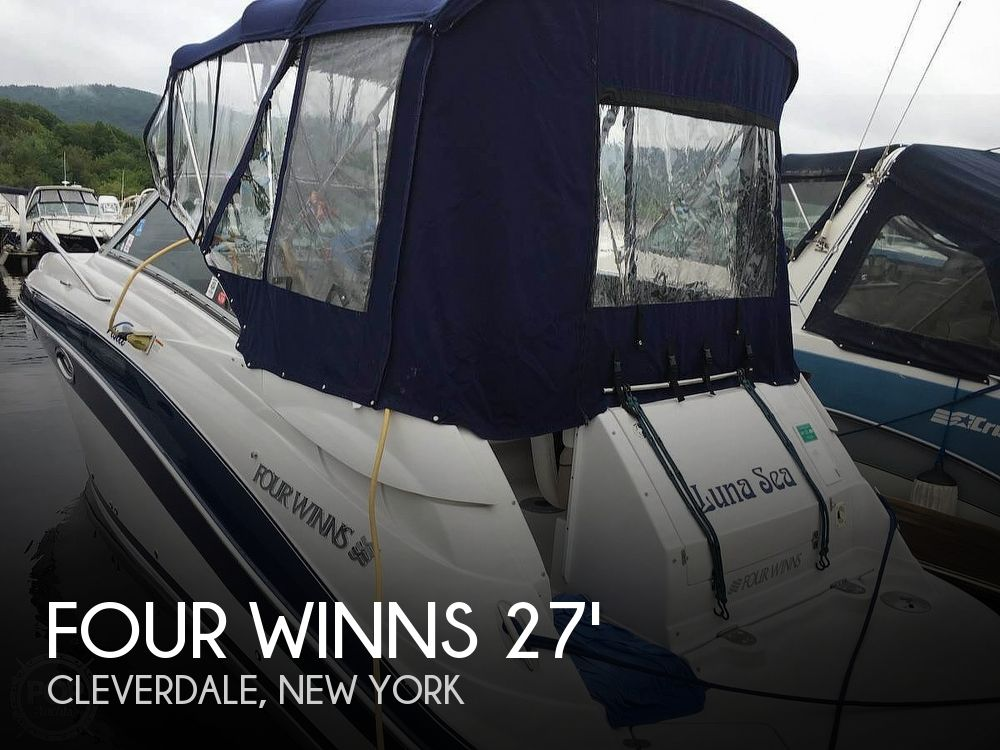 Used Four Winns Boats For Sale in New York by owner | 2006 Four Winns Vista Cruiser 278