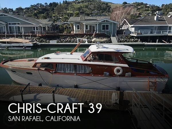 Used Chris-Craft Boats For Sale in California by owner | 1953 Chris-Craft 39