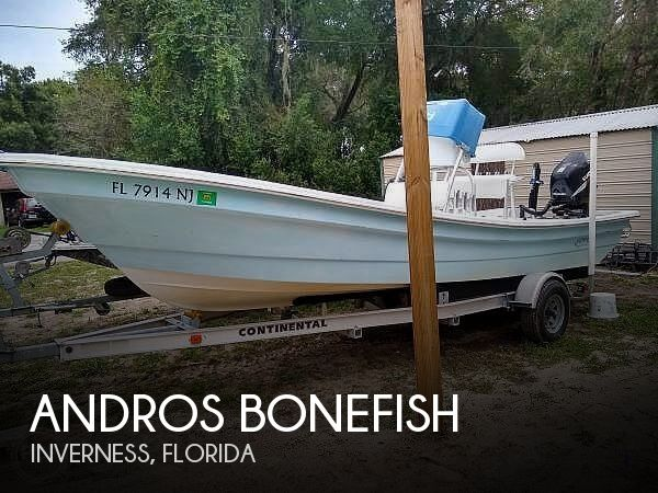 Used Andros Boats For Sale in Ocala, Florida by owner | 2007 23 foot Andros Bonefish