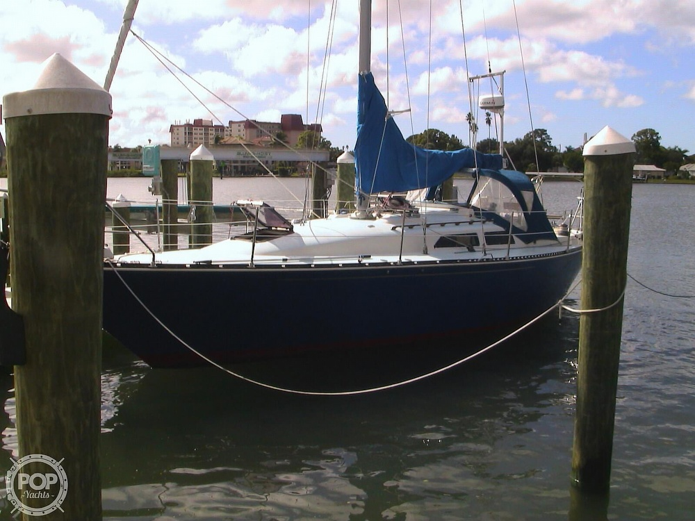1982 C & C boat for sale, model of the boat is 34 & Image # 3 of 40