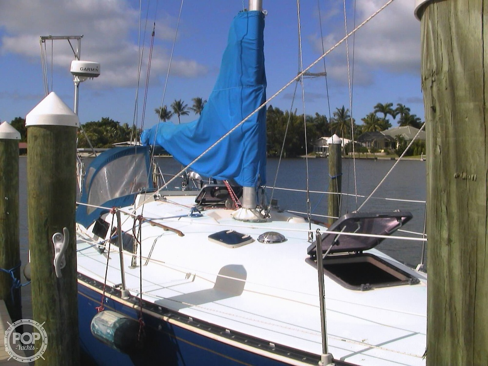 1982 C & C boat for sale, model of the boat is 34 & Image # 16 of 40