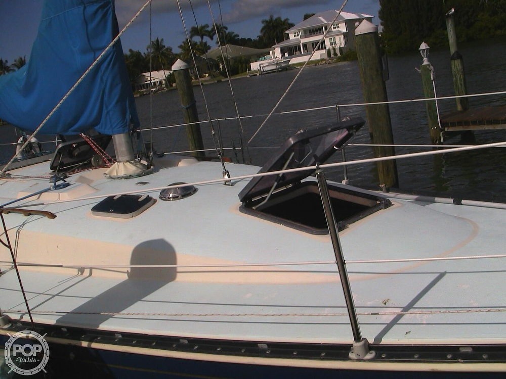 1982 C & C boat for sale, model of the boat is 34 & Image # 27 of 40