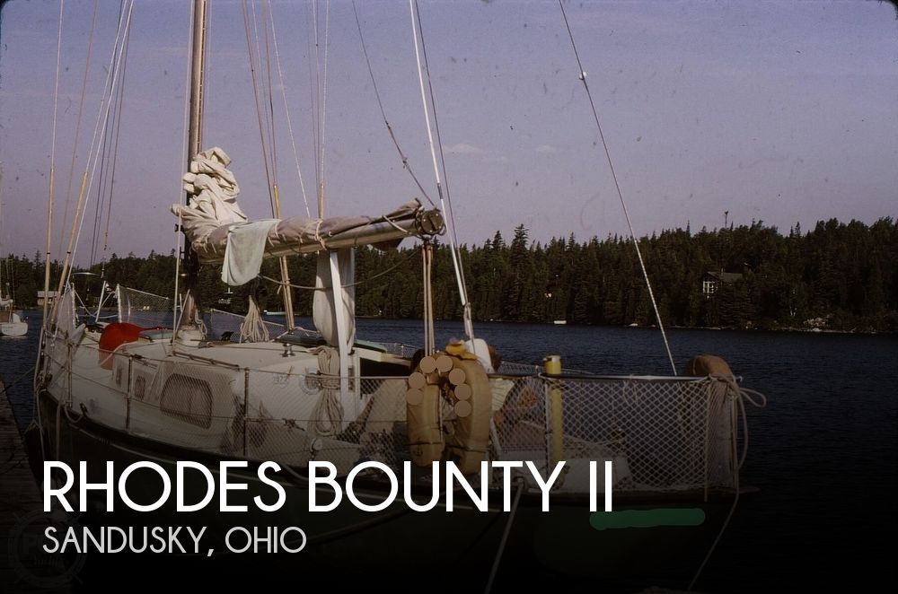 Used Rhodes Boats For Sale by owner | 1960 41 foot Rhodes Bounty II