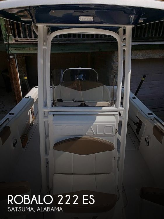 Used Robalo Boats For Sale by owner   2017 Robalo 222 ES
