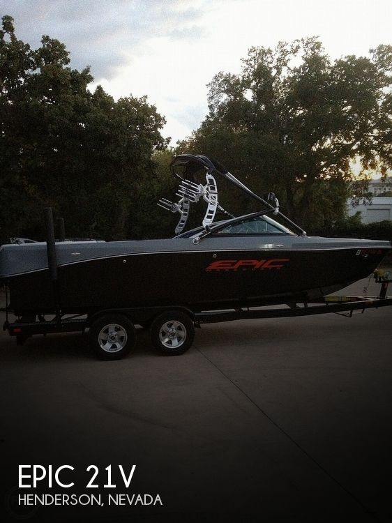 Used Epic Boats For Sale by owner | 2012 Epic 21V