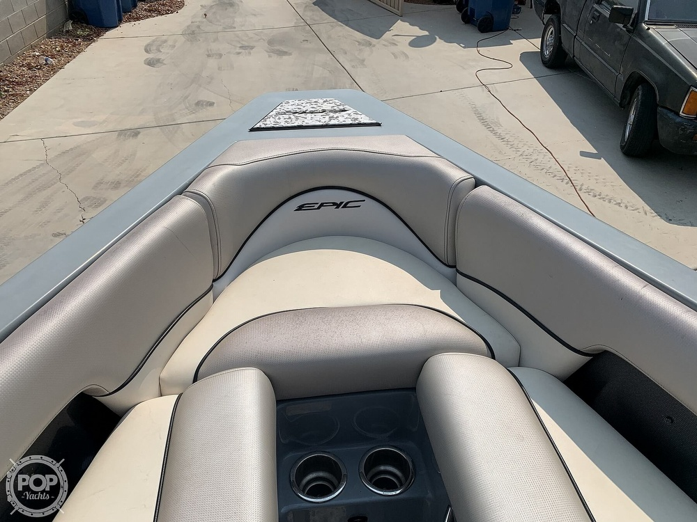 2011 Epic boat for sale, model of the boat is 21V & Image # 31 of 40
