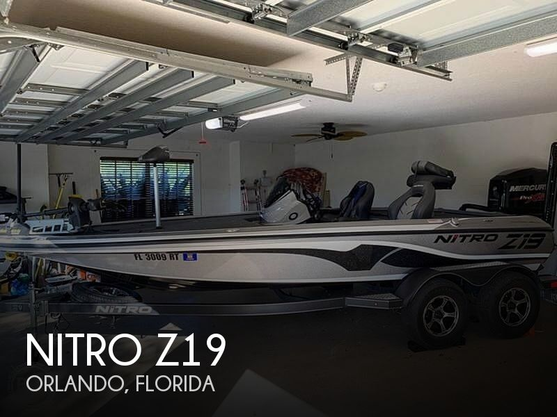Used NITRO Boats For Sale in Florida by owner | 2017 Nitro Z19