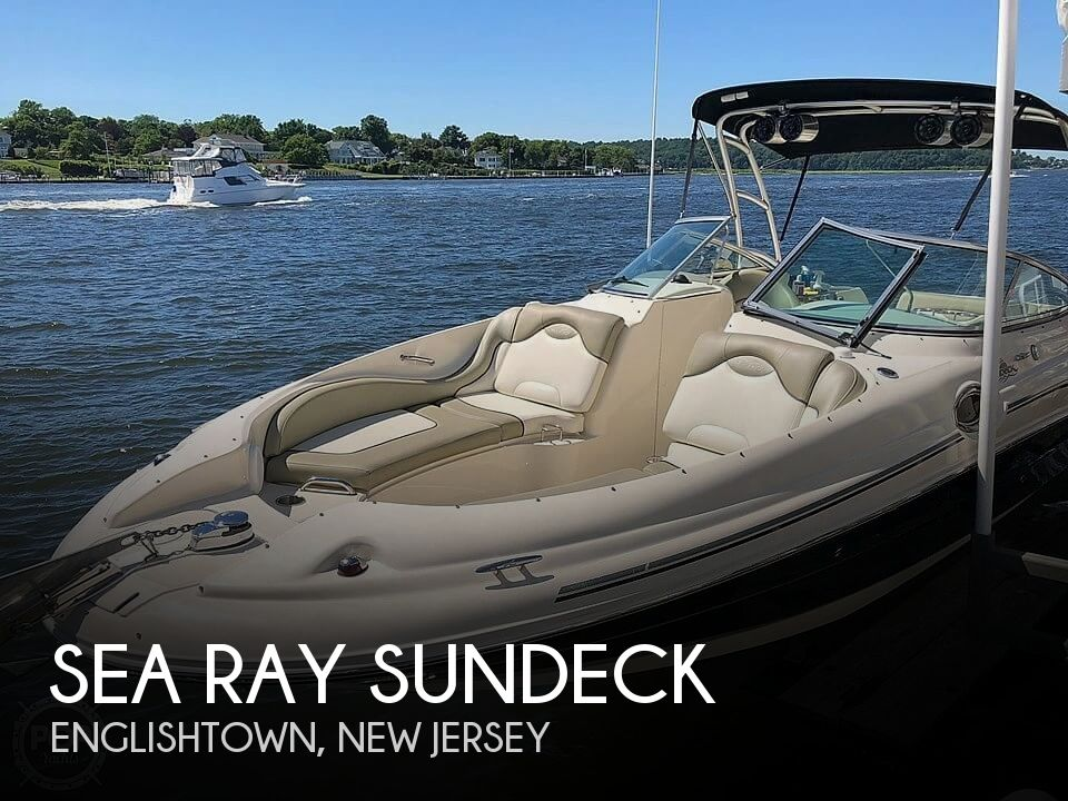 Used Sea Ray Deck Boats For Sale by owner | 2006 27 foot Sea Ray Sundeck