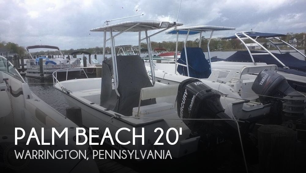 Used Palm Beach Boats For Sale by owner | 1997 Palm Beach White Cap 200