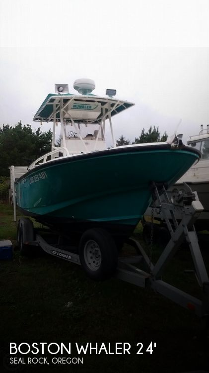 Used Power boats For Sale in Eugene, Oregon by owner | 1996 24 foot Boston Whaler Outrage