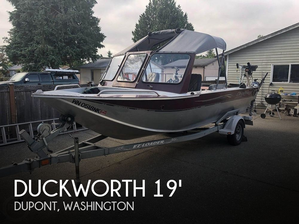 Used Duckworth Boats For Sale by owner | 2001 Duckworth 19