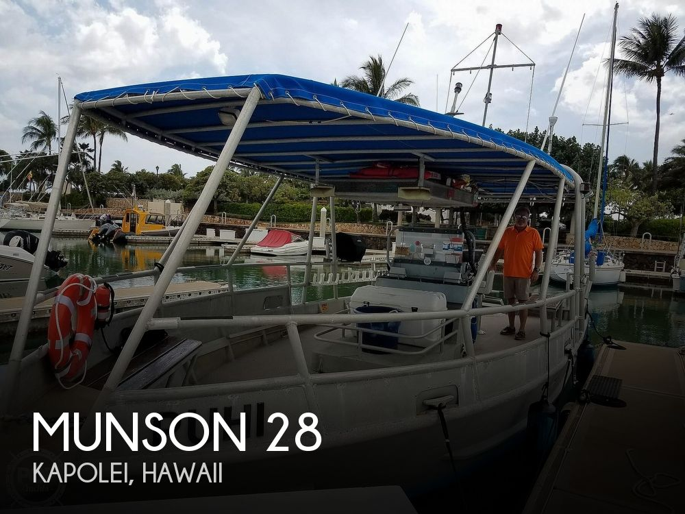 Used Power boats For Sale in Hawaii by owner   1990 Munson 33 Hammerhead