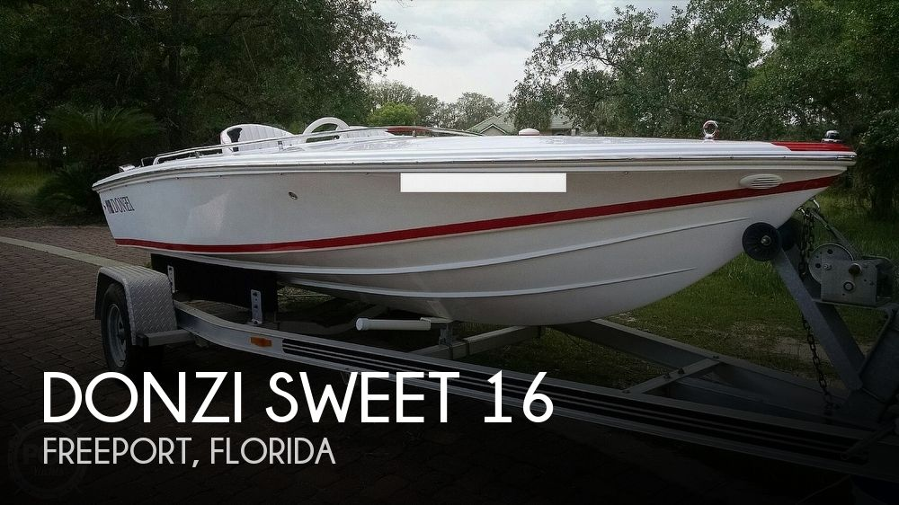 2005 Donzi boat for sale, model of the boat is Sweet 16 & Image # 1 of 4