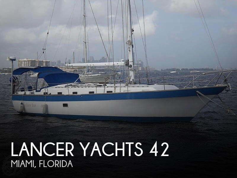 1981 Lancer Yachts boat for sale, model of the boat is 42 Masthead Sloop & Image # 1 of 40