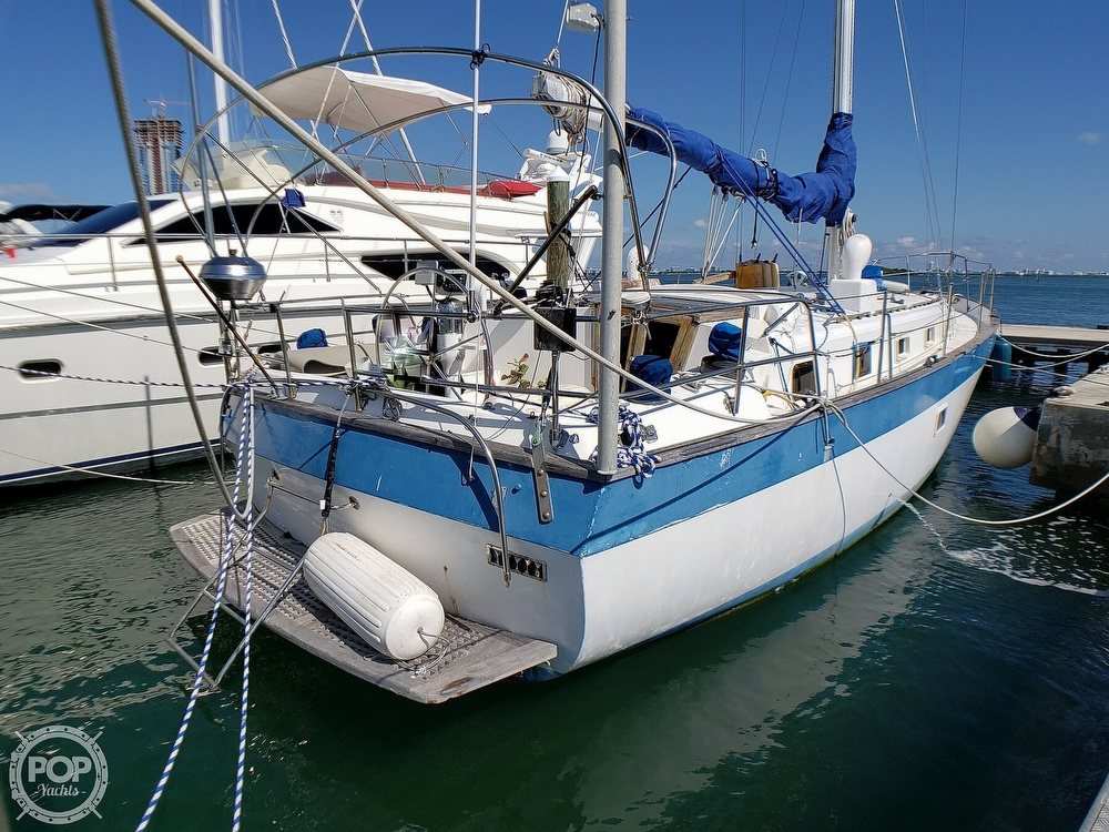 1981 Lancer Yachts boat for sale, model of the boat is 42 Masthead Sloop & Image # 11 of 40
