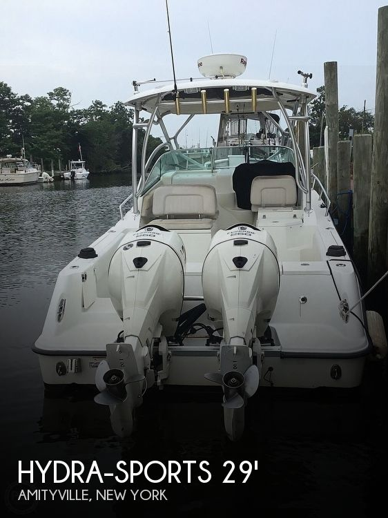 Used Fishing boats For Sale in New York by owner | 2006 Hydra-Sports Vector 2900 VX