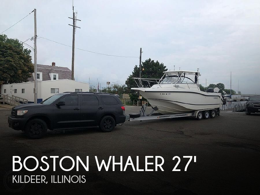 Used Boats For Sale in Rockford, Illinois by owner | 2005 27 foot Boston Whaler Conquest