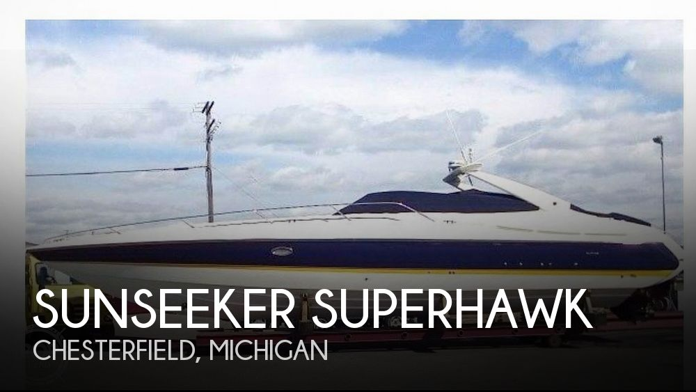 Used Boats For Sale in Michigan by owner | 1998 49 foot Sunseeker Superhawk