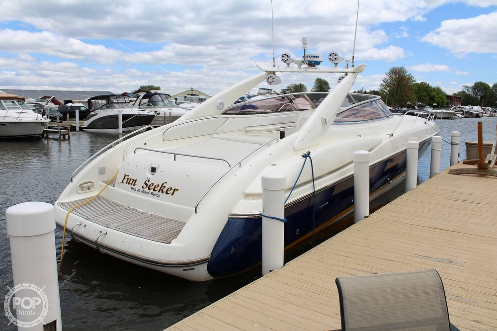 1998 Sunseeker boat for sale, model of the boat is Superhawk & Image # 3 of 40