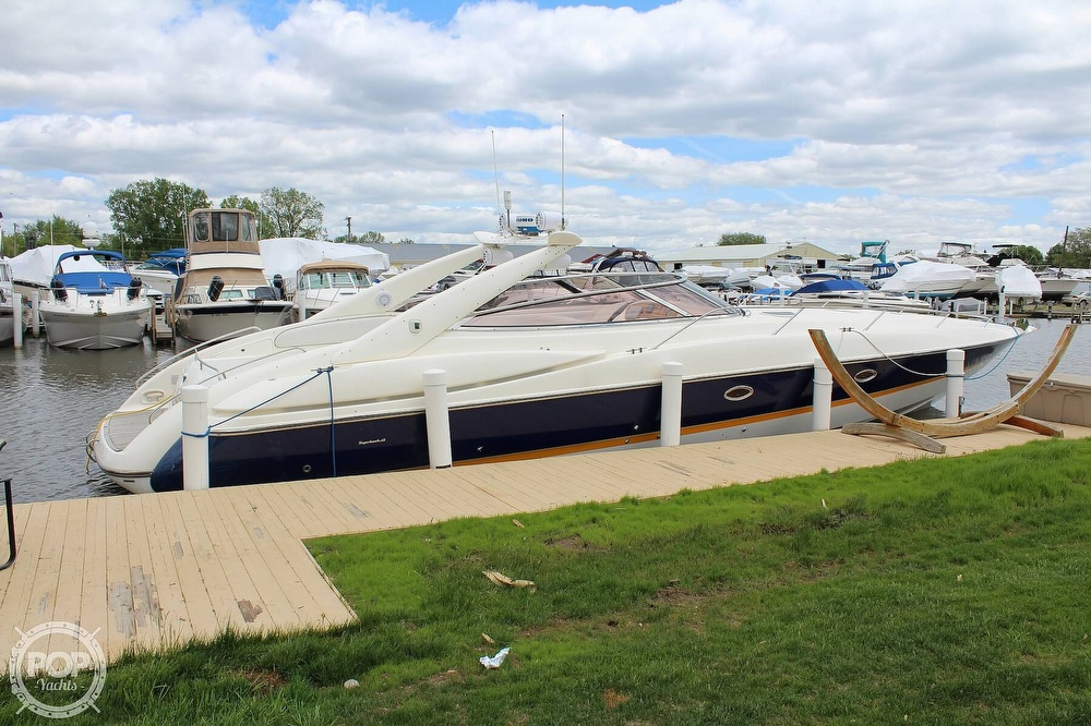 1998 Sunseeker boat for sale, model of the boat is Superhawk & Image # 6 of 40
