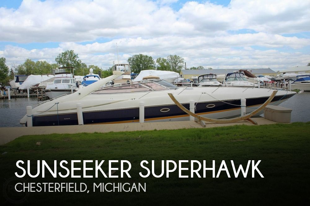 1998 Sunseeker boat for sale, model of the boat is Superhawk & Image # 1 of 40