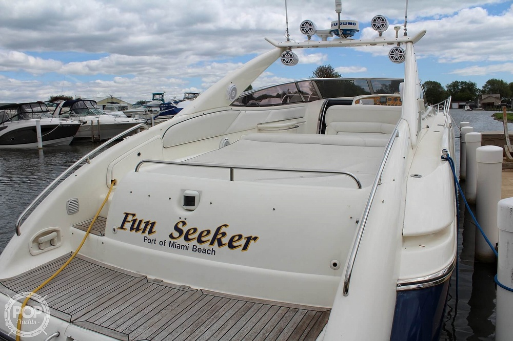 1998 Sunseeker boat for sale, model of the boat is Superhawk & Image # 11 of 40