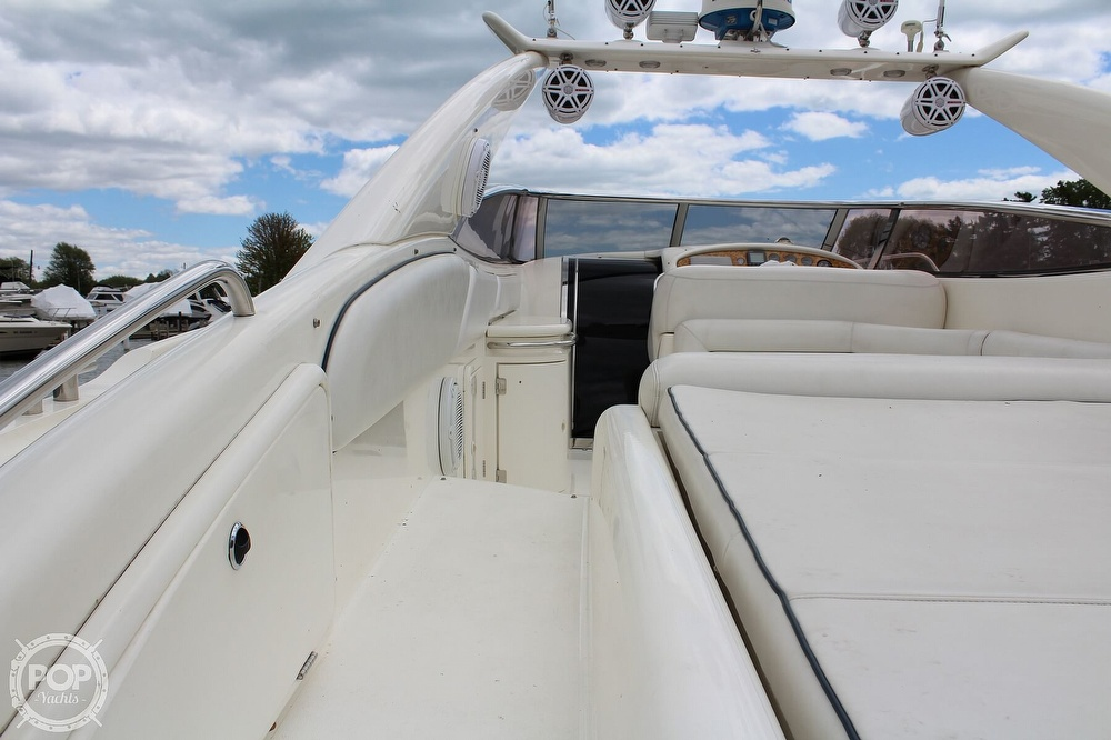 1998 Sunseeker boat for sale, model of the boat is Superhawk & Image # 15 of 40