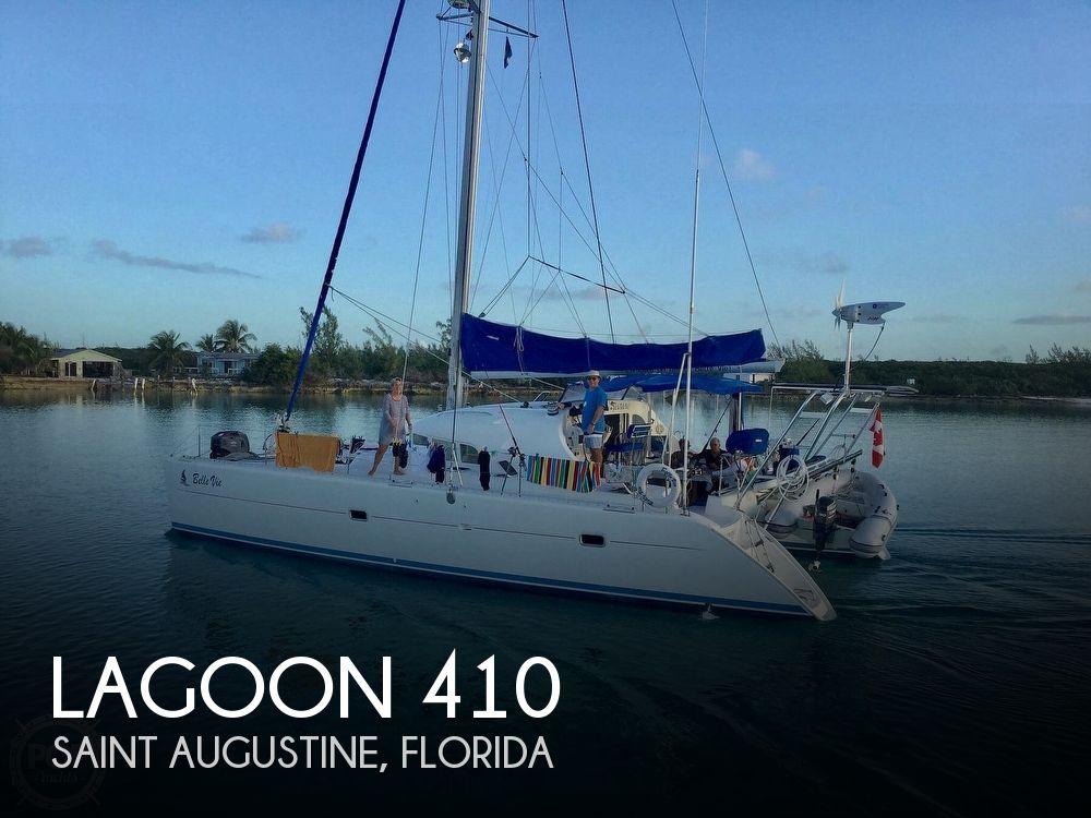 2002 Lagoon boat for sale, model of the boat is 410 & Image # 1 of 40