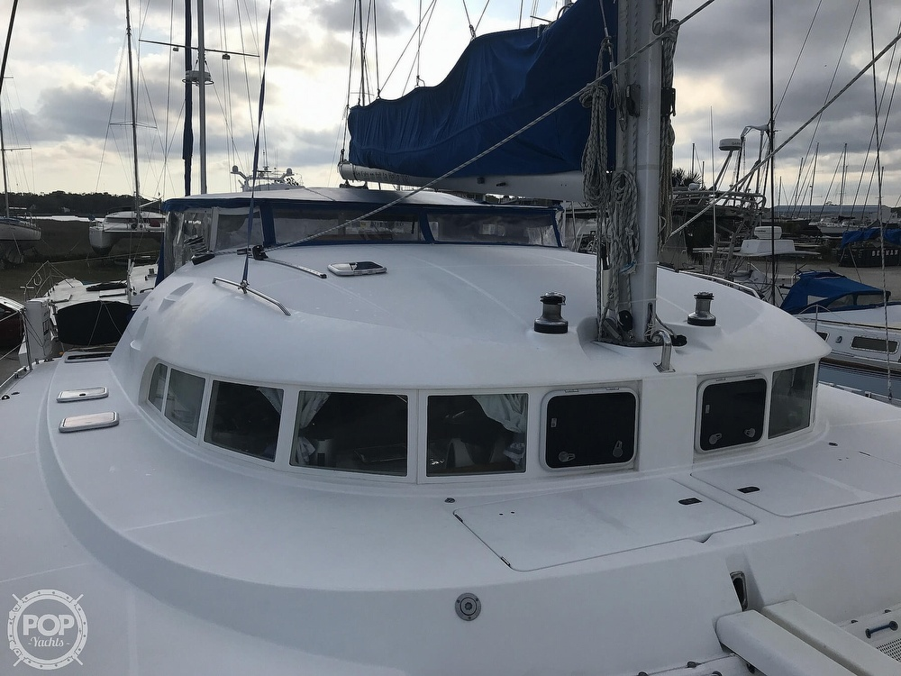 2002 Lagoon boat for sale, model of the boat is 410 & Image # 19 of 40