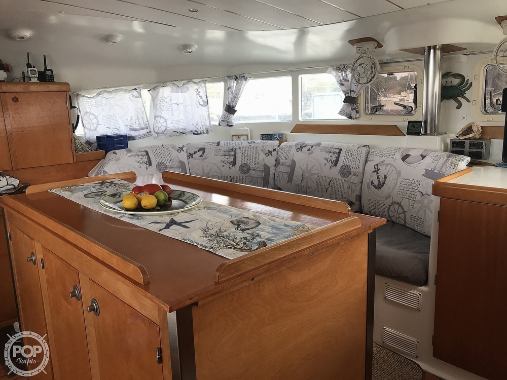 2002 Lagoon boat for sale, model of the boat is 410 & Image # 27 of 40