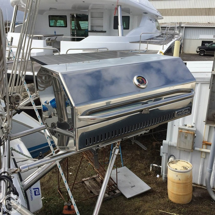 2002 Lagoon boat for sale, model of the boat is 410 & Image # 32 of 40