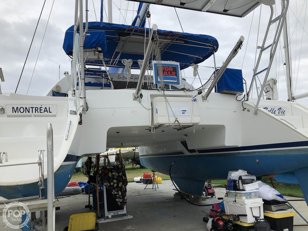 2002 Lagoon boat for sale, model of the boat is 410 & Image # 40 of 40