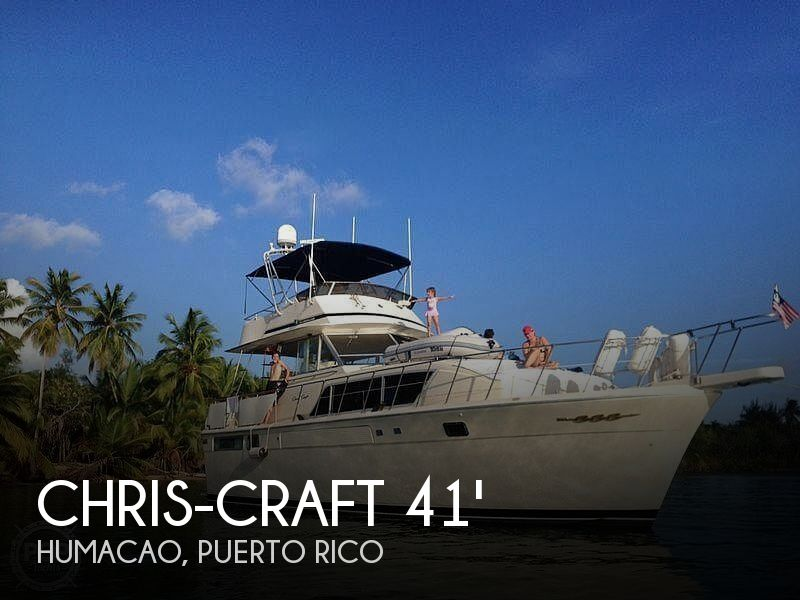 1987 Chris Craft boat for sale, model of the boat is Constellation 410 & Image # 1 of 40