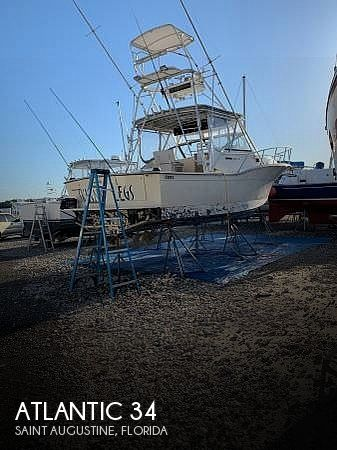 Used Atlantic Boats For Sale by owner   1991 Atlantic 34