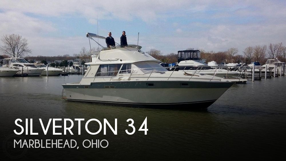 Used Fishing boats For Sale in Ohio by owner | 1985 Silverton 34 Convertible