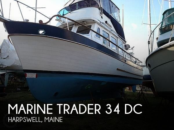 1978 Marine Trader boat for sale, model of the boat is 34 DC & Image # 1 of 40