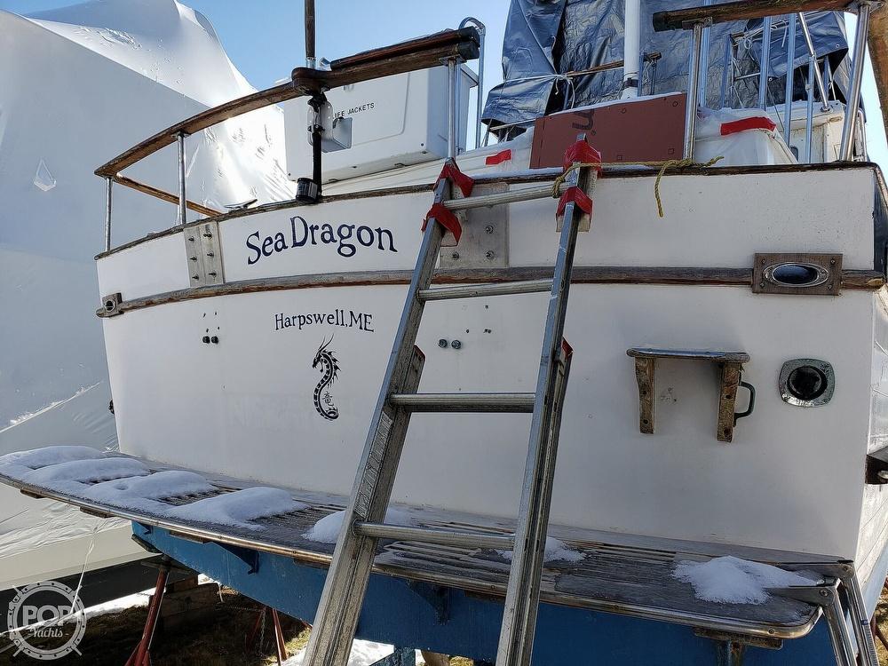 1978 Marine Trader boat for sale, model of the boat is 34 DC & Image # 28 of 40